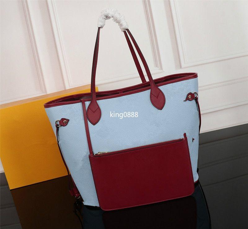 Hot caratteristica classica nuova borsa a tracolla delle donne borsa del progettista alla moda di alta qualità cerniera staccabile borsa 40995