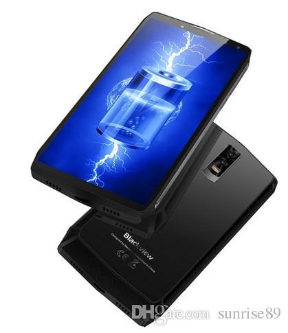 Blackview P10000 Pro 4G Smartphone 6.0 Inch Android 7.1 MTK6763 Octa Core 4GB RAM 64GB ROM Quad Cameras Glass Back Case 11000mAh