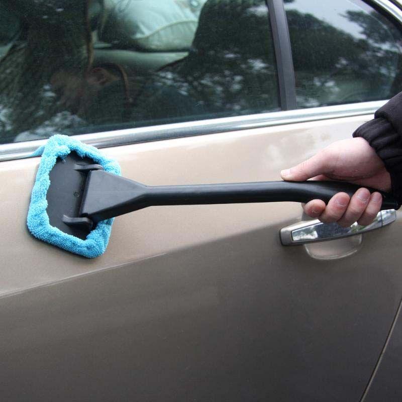 핸디 자동 창 클리너 마이크로 화이버 앞 유리 세제 자동 차량 홈 세척 수건 창 유리 와이퍼 먼지 제거제 자동차 청소 도구