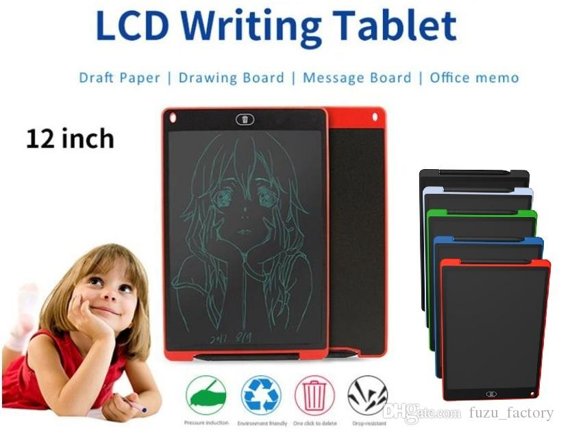 Color : Black, Size : 20 inches Message Board,LCD Writing Tablet 20 Inch LCD Handwriting Board Childrens Drawing LCD Writing Board Electronic Drawing Board for Business,Home Message Board,Kid