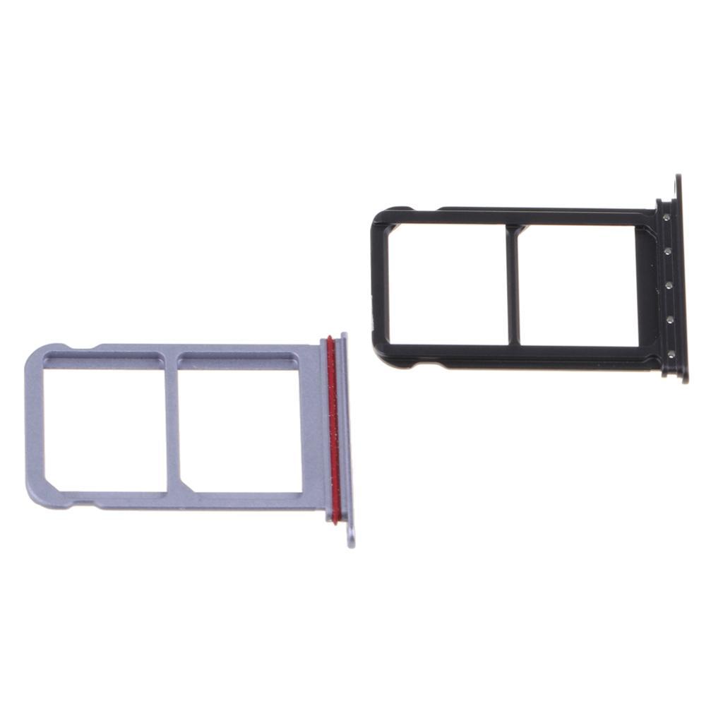 2 Piezas de reemplazo de alta calidad de doble SIM adaptador de bandeja, para Huawei P20 Pro