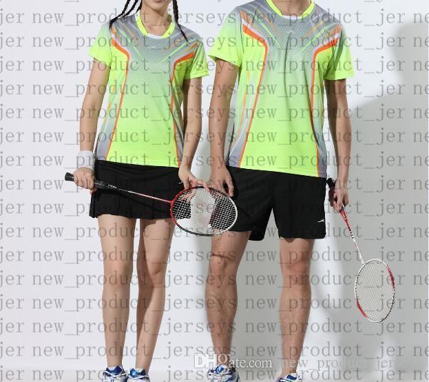 23 Badminton Gleitpaarung 45 Modelle 971 T-Shirt 13 kurzärmelige 25 schnell trocknende Farbanpassung druckt nicht verblasste Tischtennis 35 Sportbekleidung