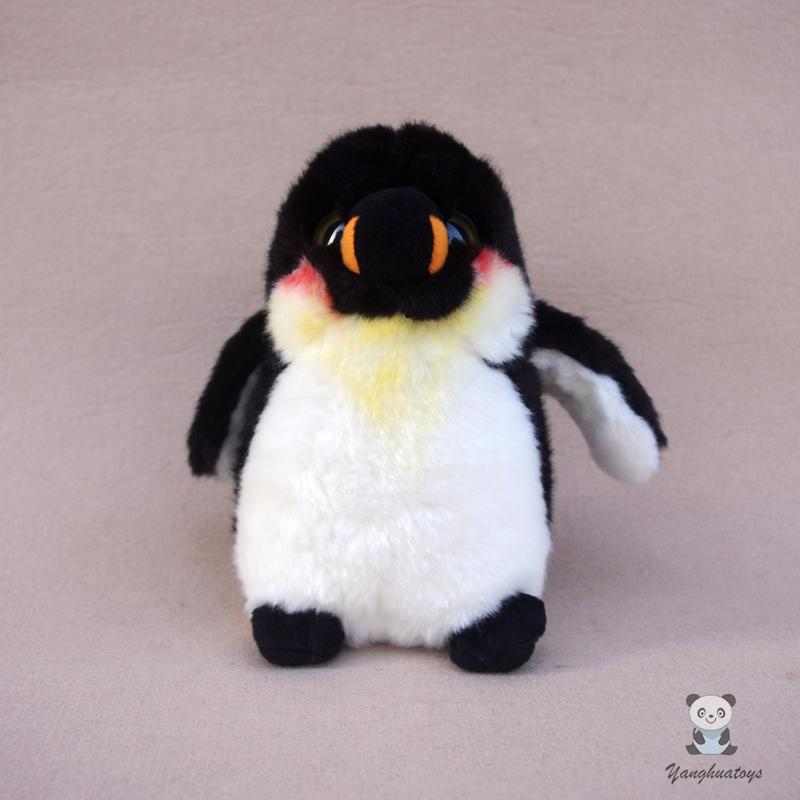 Real Life Doll Plush Emperor Penguins Toy Cute Big Eyes Stuffed Animal Toys For Children Present