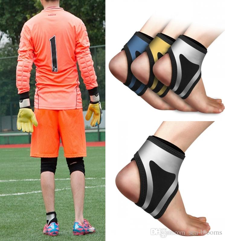 Free DHL Ankle Protector Pressurize Outdoor Sports Ankle Protection Belt Single Left And Right Outdoor Sports Protective Gear 3 Colors M149R