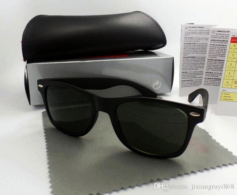 1 pcs de haute qualité marque designer mode hommes lunettes de soleil protection UV sport de plein air vintage femmes lunettes de soleil rétro lunettes avec boîte