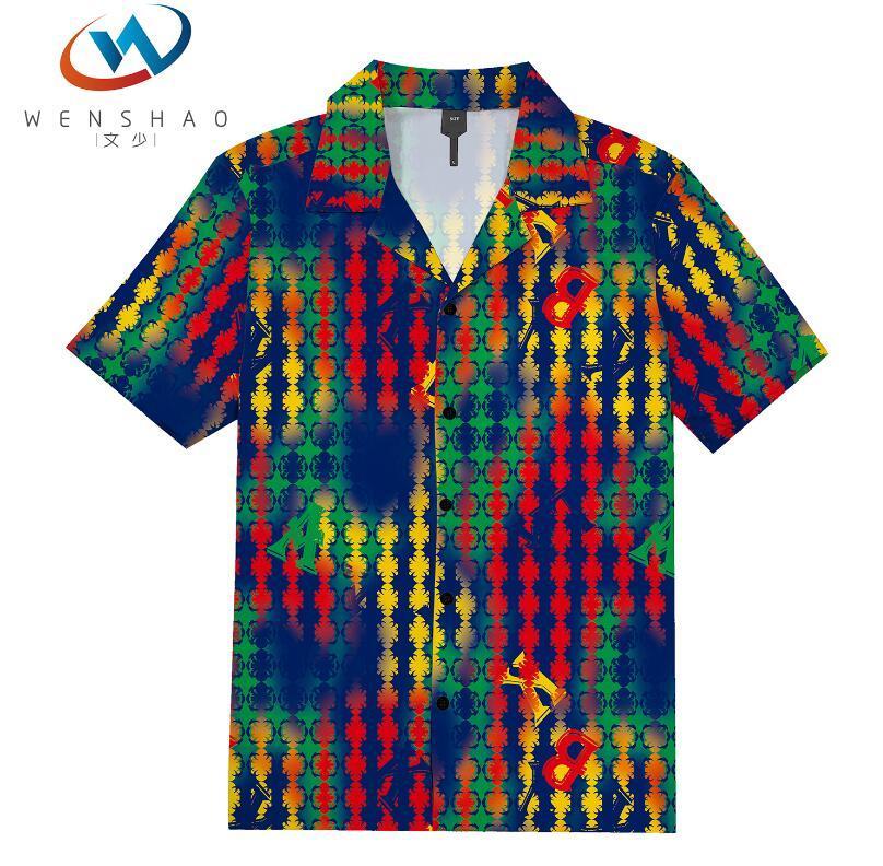 = 2020 ilkbahar yaz marka etiketi elbise erkekler Polo tişört yaka yaka kumaş mektup eğlence erkekler tişörtler ParisJJ51 Marka adı