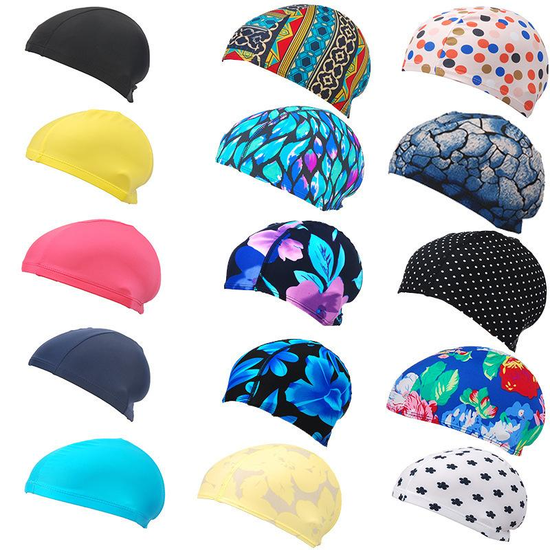 2021 2019 New Womans Swimming Cap Long Hair Swimming Accessories Hats Mens  Mask For Sun Water Sport Swim Cap Beach Summer From Jerry006, $2.03 |  DHgate.Com