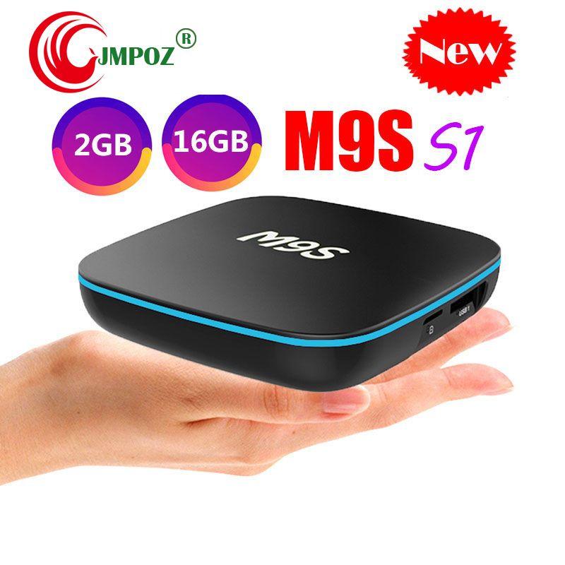 Best Set Top Box 2020 2020 M9S S1 Android 7.1 TV BOX Allwinner H3 Chip Quad Core Rom 1GB