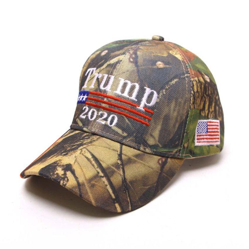 New 2020 Donald Trump Cap USA Flag Camouflage Baseball Great Hat Souvenir Gifts