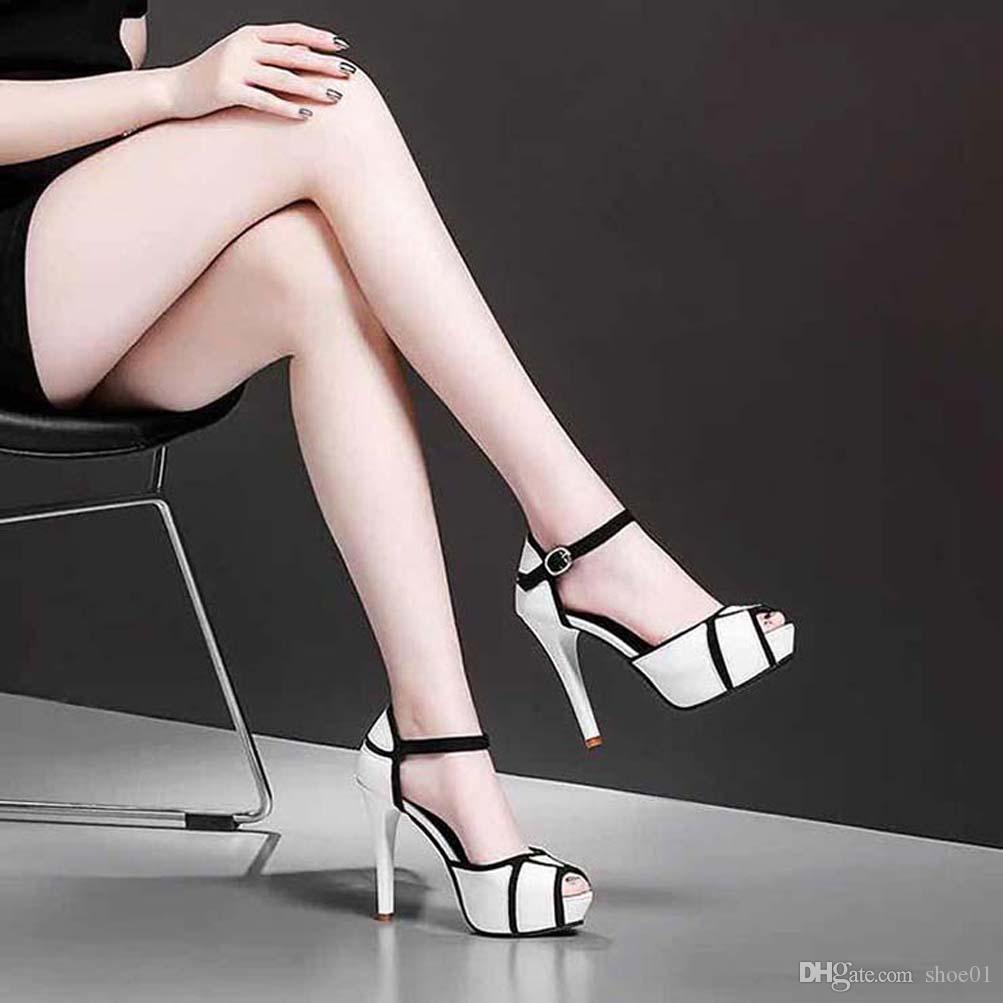 talloni delle donne dei sandali di alta qualità sandali dei pistoni Huaraches Flip-Flops scarpa Mocassini per il pistone shoe01 PL134