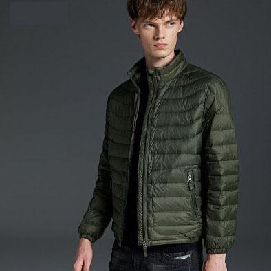 Mens Designer Casaco Para Baixo Casual Masculino Jaquetas de Cor Sólida Moda Britihsh Estilo Roupas de Inverno Embossing Top Roupas 5 Cores para Estudante