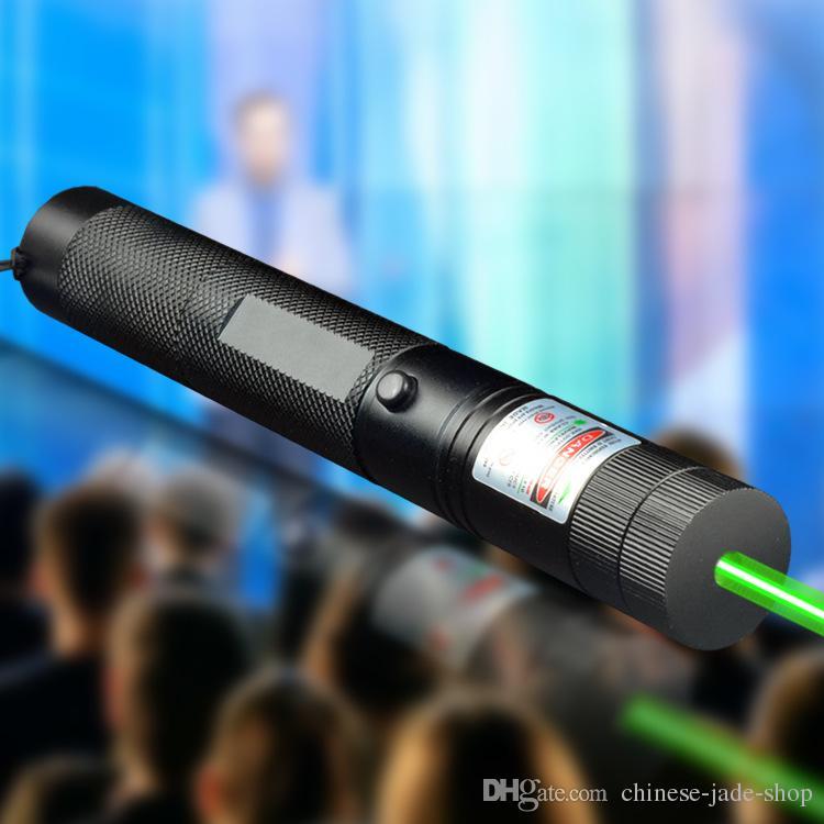 مؤشر ليزر خضراء القلم قابل للتعديل التركيز مضاءة مباراة الترفيه 303 مرتبطا نجمة 22MMX158mm (غير المدرجة البطارية) 90 قطعة / الوحدة