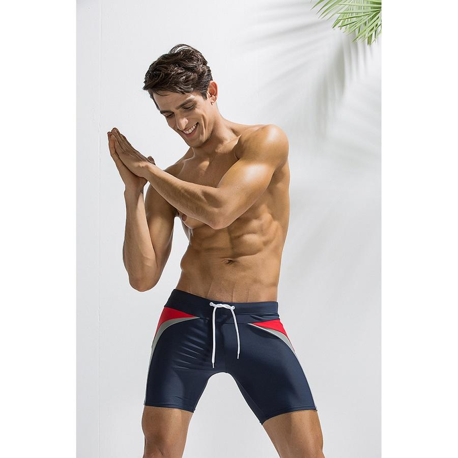 Praia calças dos homens impermeáveis de homens verão Swimwear Mens Designer de cinco pontos Calças de fitness Boxer Swimwear Homens Homens Casual Calções