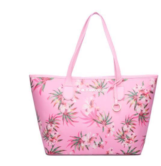 2019 New Fashion Black Flower Bag Travel Duffel Bag Women Travel Shoulder Bag Large Handbags Beach Large Capacity Shopping Bags Y19061204