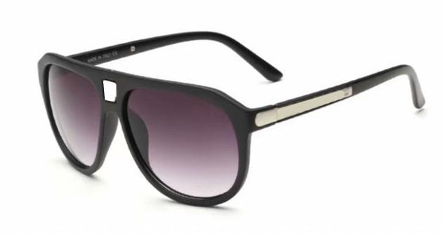 Mode Marque Designer 9018 Sunglasses Trend de Luxe Hommes Verres UV Protection UV Nouveaux verres 4 Couleurs avec boîte