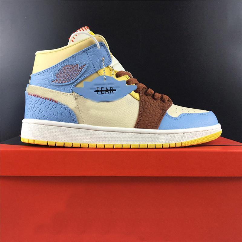 Ventas al por mayor 2020 Ones diseñador de moda El baile de los zapatos de baloncesto de tamaño Alta Media multi de los colores para hombre de las zapatillas de deporte deporte de las mujeres 5,5-12