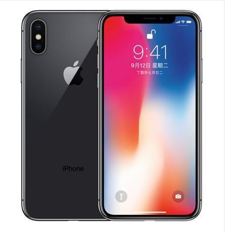 Refurbished Original iPhone X With Face ID 64GB 256GB 4G LTE Mobile phone 5.8'' 12.0MP 3GB RAM 64GB/256GB ROM Cellphone unlocked iphoneX