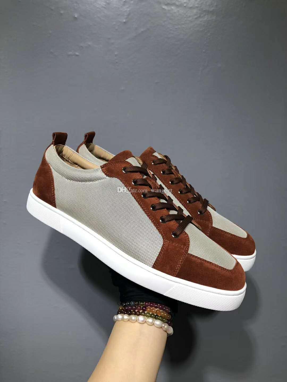 Preço de fábrica de alta qualidade malha couro vermelho sapatilhas sapatos respirável conforto low top mulheres casuais, homens andando moda flats