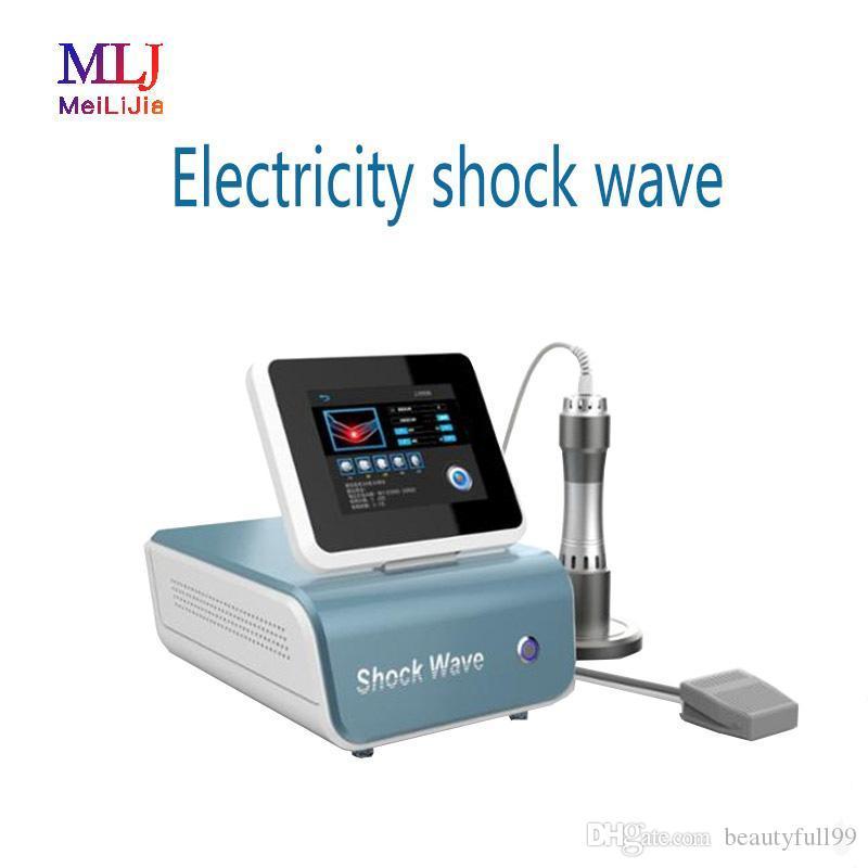 Fábrica priceShipping gratuito! Electricidad onda de choque equipo de terapia equipo de tratamiento físico