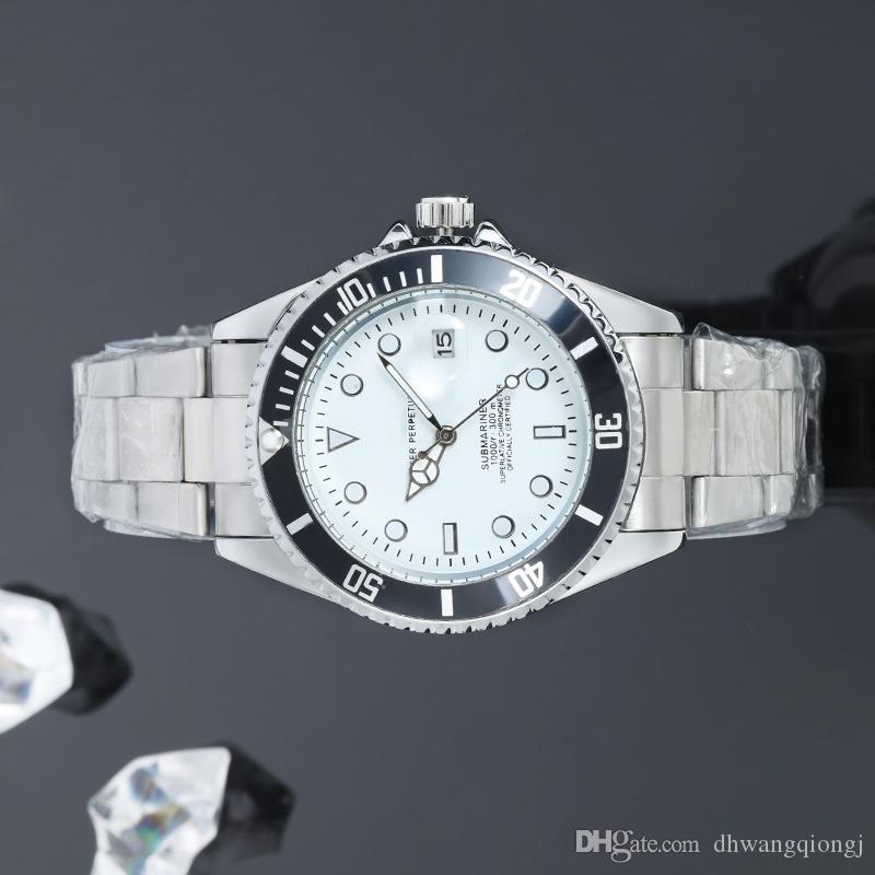 Конструктор часы мужские Роскошные часы кварцевые часы для мужчин Multi-цвета циферблат с пряжкой календарь Master Мужской подарок роскоши Мужские часы
