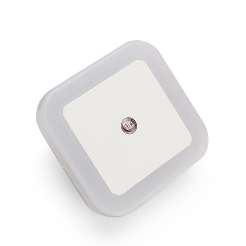 LED Night Light Sensor de Controle Noite Lamp LED Energia Saving Lamp Sensor UE plug-nos Nightlight para crianças das crianças do Quarto