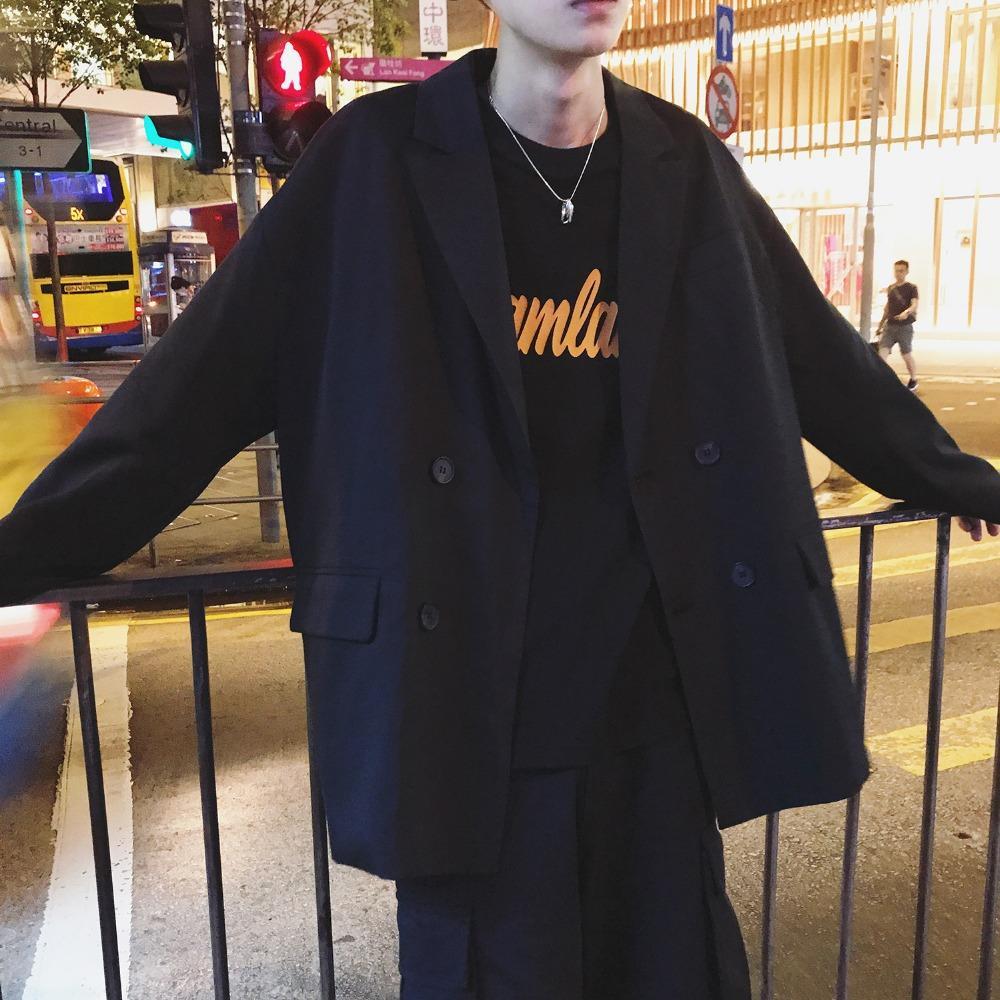 2019 Новая мода повседневные мужские костюмы Пиджаки с длинным рукавом Корейский Стиль Мужчины костюм куртка Blazer Homme