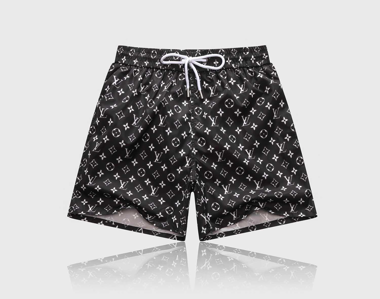 2020 marca cortos de comisión del verano del diseñador de los hombres de manga corta cortocircuitos de la playa pantalones de traje de baño de natación