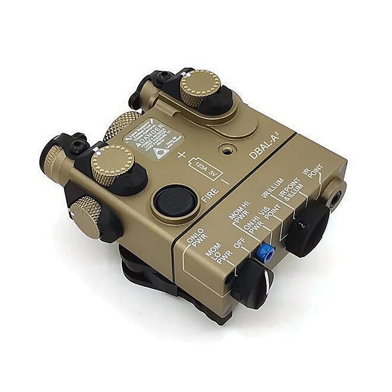 التكتيكية dbal-a2 peq-15a ir (الأشعة تحت الحمراء) الليزر الأحمر المتكامل يأتي مع مرونة التبديل الصيد بندقية ir irluminator