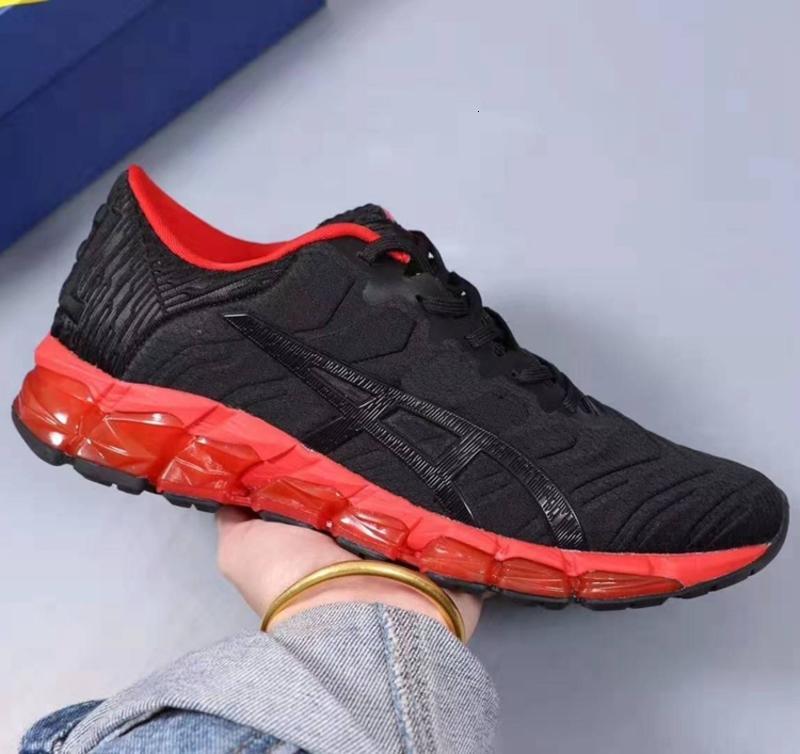 2020 yeni With Box GEL-Quantum 360 5 Gençlik Mens yeni Koşu yastıklama Ayakkabı Beyaz Siyah Kırmızı PIEDMONT GRİ Öğrenci Sneakers