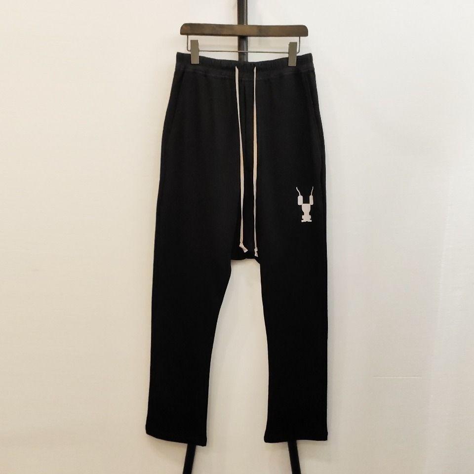 Nouveau mode Minimalisme Sarouel solide Hommes Femmes Joggers Baggy Sweatpants Robot Hiphop hommes Joggers Pantalons