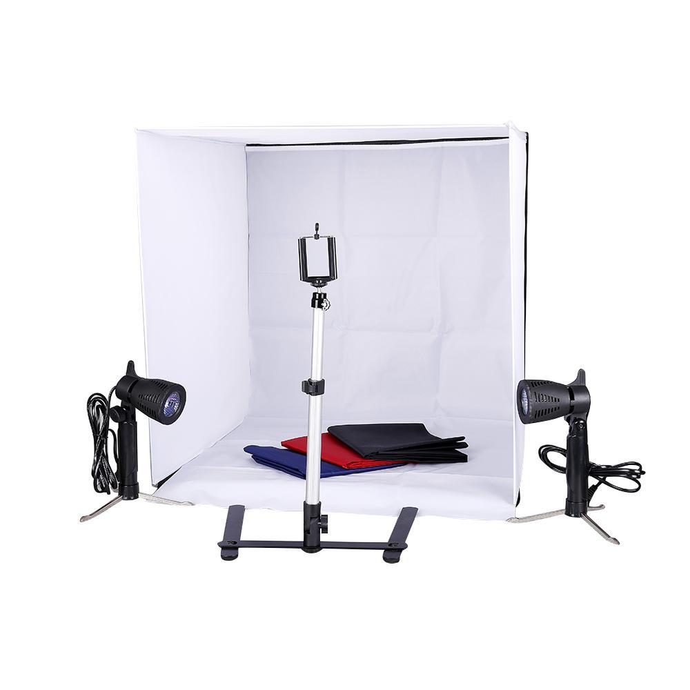 استوديو الصور 24 بوصة التصوير الإضاءة خيمة كيت خلفية مكعب في علبة حامل البسيطة أفضل بائع
