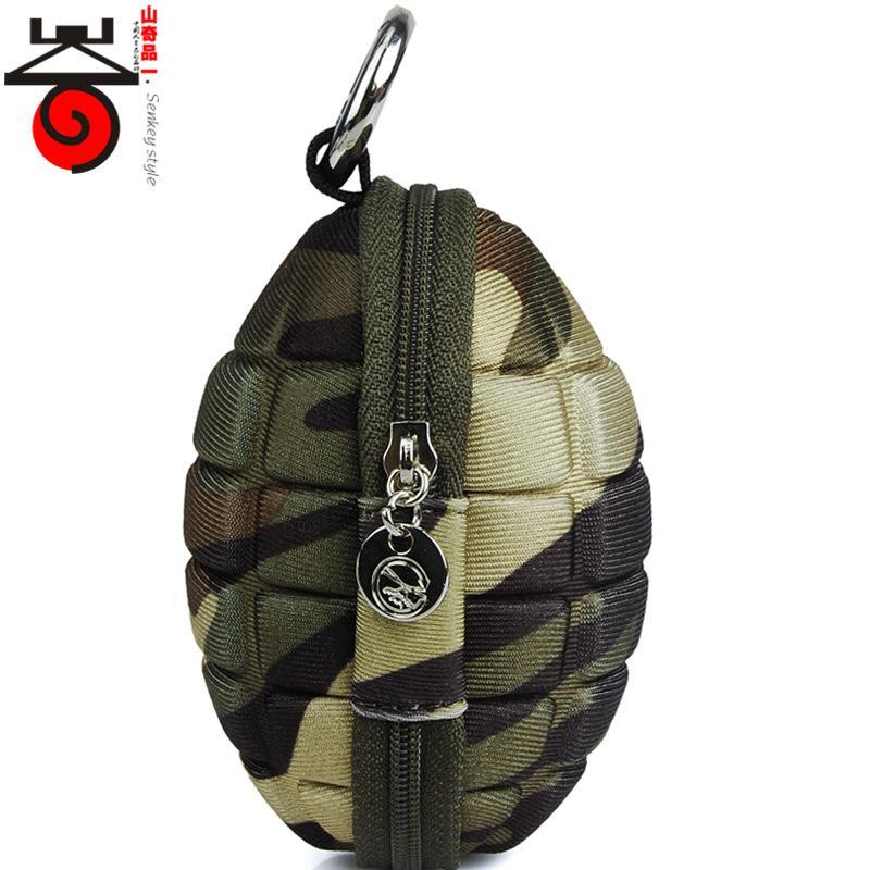 Couple Matching Personality Grenades Bag Grenade Bomb Bag Coin Bag Wallets Purse Wholesale