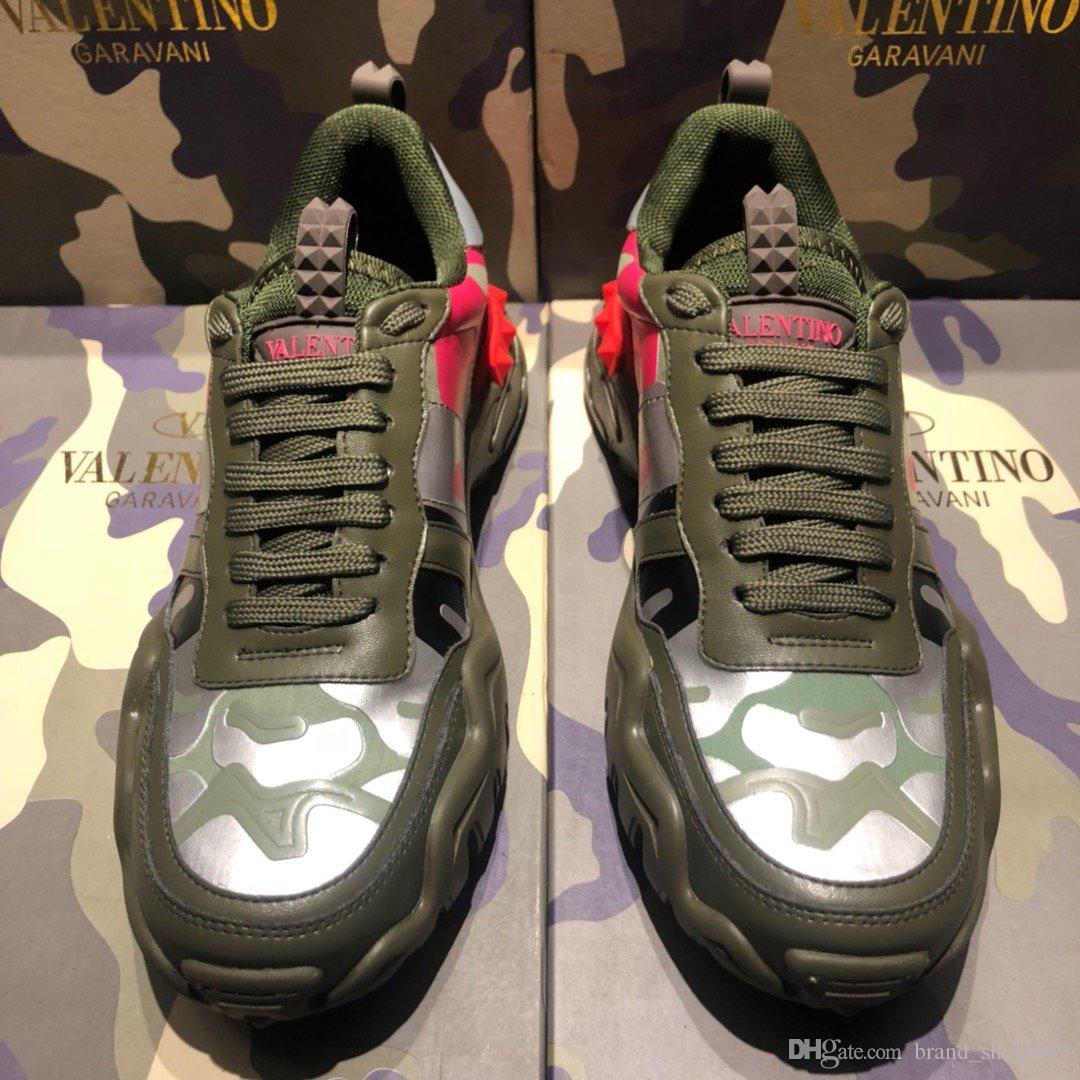 2020 NOUVEAU KU design de luxe de haute qualité baskets casual couple hommes et les femmes chaussures de sport de mode casual