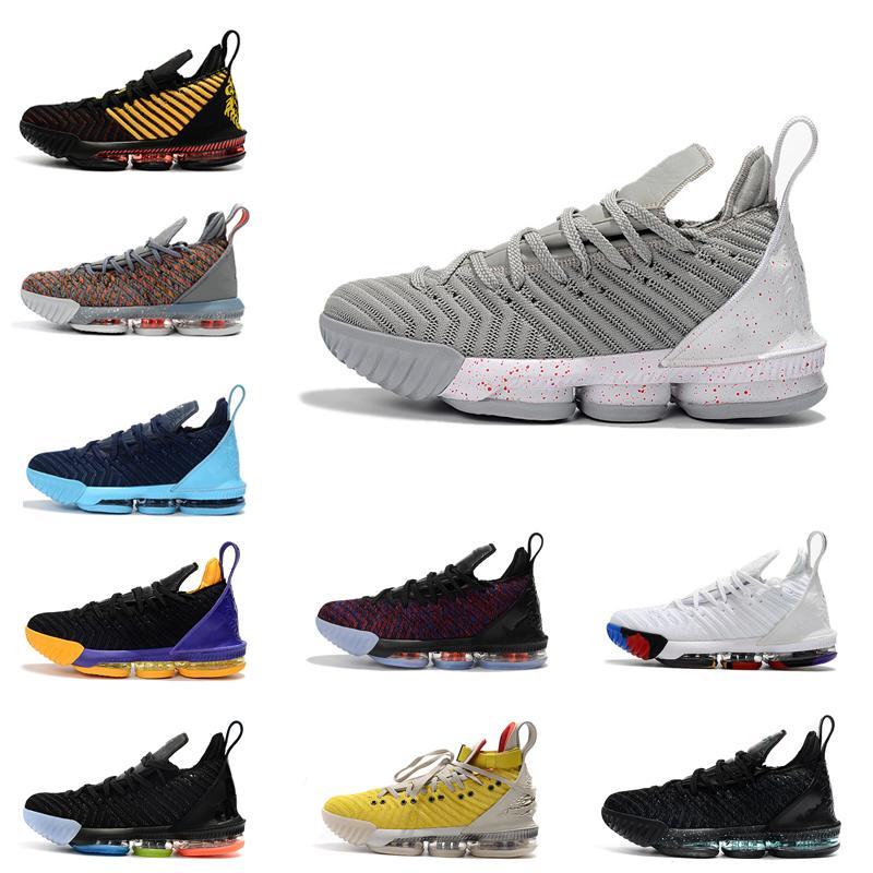 إطلاق سراح 2020 من منتجات جديدة وأصناف جديدة من المساواة بعيدا أحذية الرجال مختلطة سوداء في 16S الترفيهية في الهواء الطلق أحذية كرة السلة الرياضة