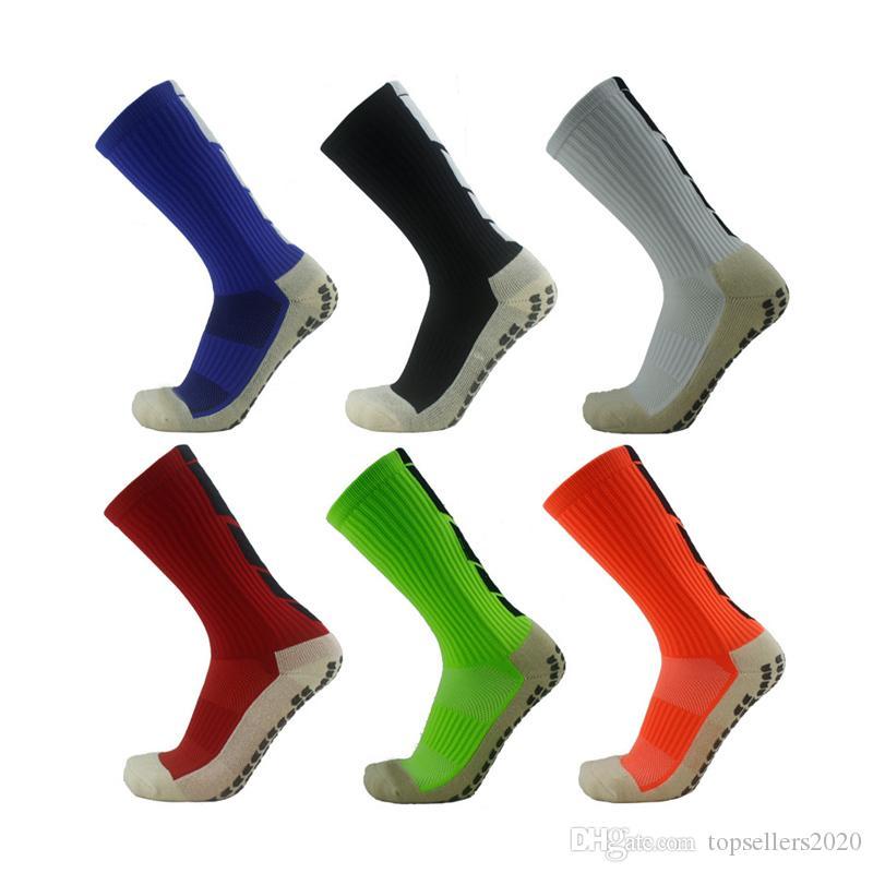 Anti-Slip Дышащие Мужчины Лето Бег Хлопок и резиновые носки футбола носки высокого качества Мужчины ZA Мужчины Женщины Велоспорт носки