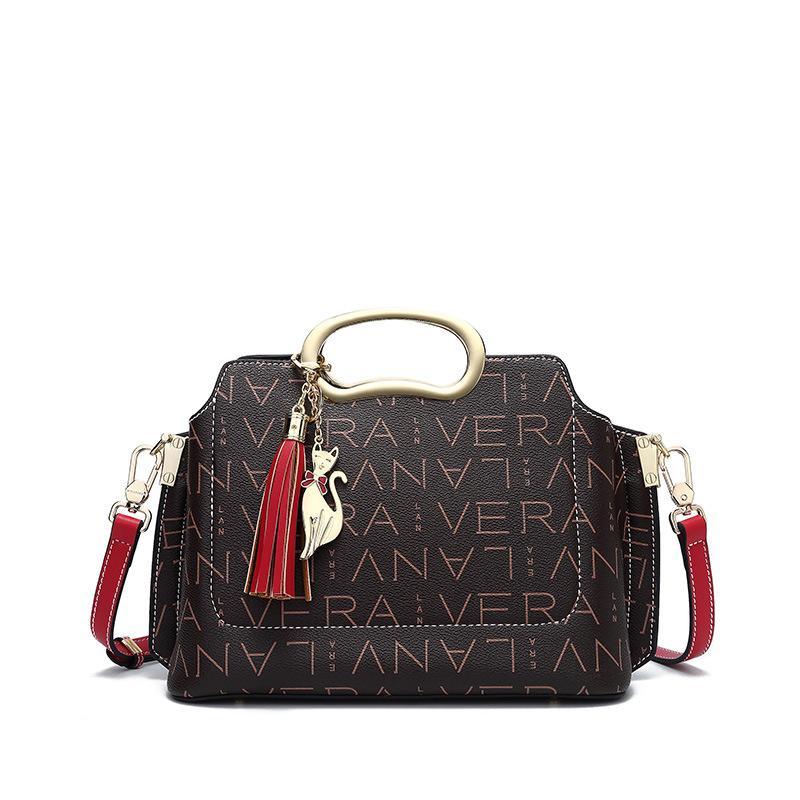 saco da senhora 2020 novo estilo de padrão de moda europeus e americanos Bolsas de ombro Mensageiro sacos bolsa