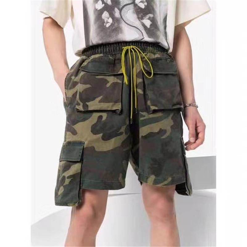 Camouflage Pantaloncini Uomo Donna 1 Top versione multi tasche Beach sportivo Shorts