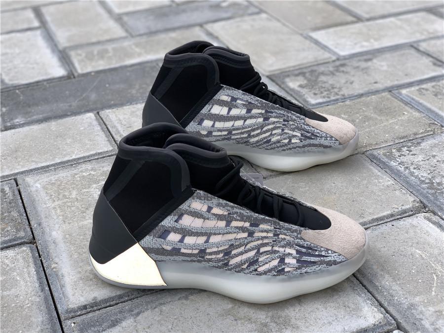 Otantik Kuantum Basketbol ayakkabı erkekler Kadınlar Mafya EG1535 Kanye West Dalga Runner 3M Yansıtıcı Sneakers Sports Orijinal Kutusu 36-46 ile
