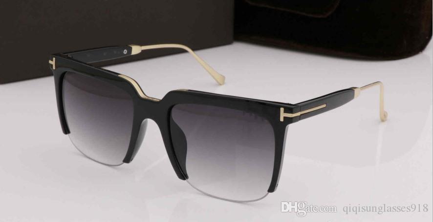 дизайнер солнцезащитных очков класса люкс 0543 бренд дизайнер Tom солнцезащитные очки для мужчин шоу моделей молодых модельеров очки des lunettes de soleil