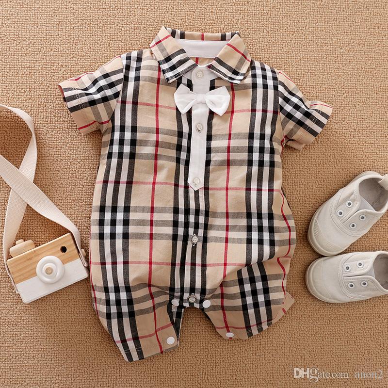مولود جديد طفل رضيع الملابس قصيرة الأكمام منقوشة الملابس السروال القصير الوليد كارتر التوائم الرضع حللا الاطفال Babygrow الأشياء الأطفال ملابس نوم