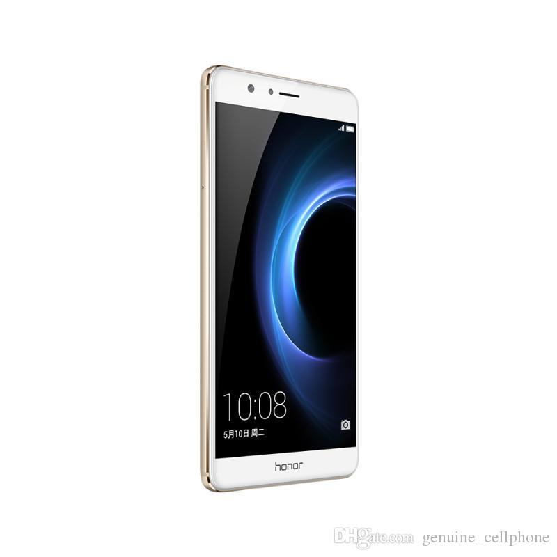 Original Huawei Honor V8 4G LTE-Handy Kirin 950 Octa-Core 4 GB RAM 32 GB ROM Android 5.7 Zoll 12MP NFC Fingerabdruck-ID intelligentes Handy