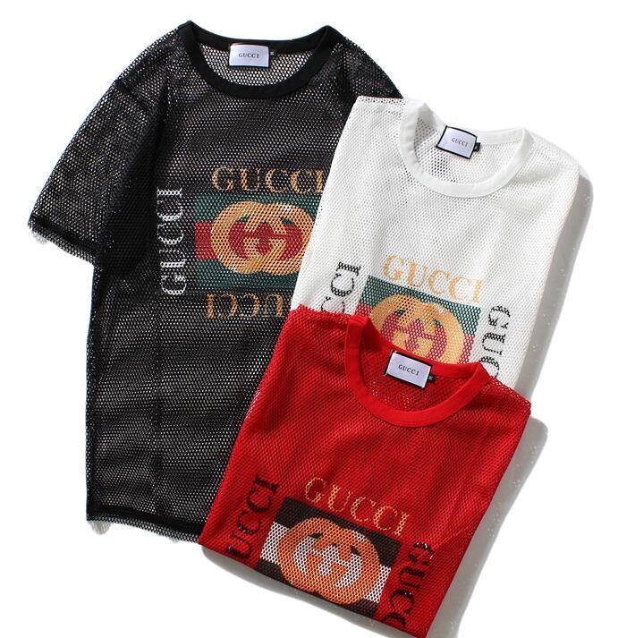 الرجال قصيرة الأكمام شعبية 2019 جديد الاتجاه الصيف فستان كريم الصيف القطن T-shirt قميص نصف كم رجال تي شيرت