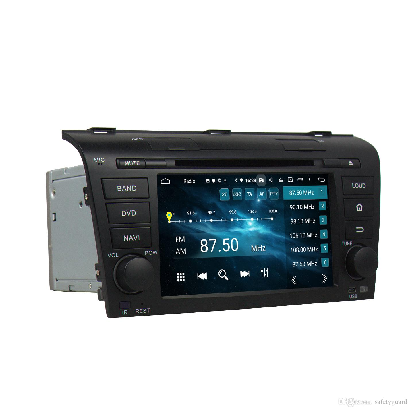 """4gb+64gb PX5 Octa Core 2 din 7"""" Android 9.0 Car DVD Player for Mazda 3 2004 2005 2006 2007 2008 2009 RDS Radio GPS WIFI Bluetooth USB"""