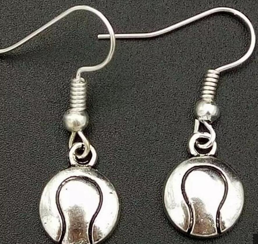 Novos produtos Esportes Brincos de beisebol Brincos de prata do vintage Designer Dangle Brincos para mulheres Acessórios de moda Presente da amizade