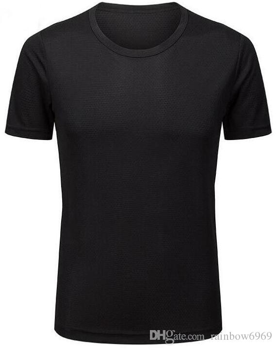 2019 мужская жесткая фитнес G с короткими рукавами Хорошо выглядящая быстрая одежда серая одежда Runnin 9595 футболка