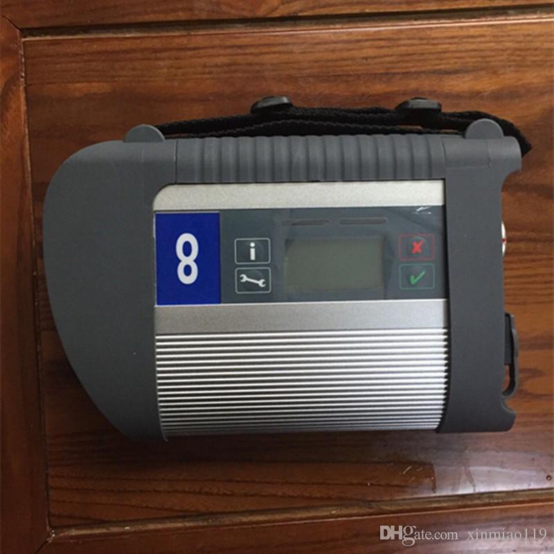 2019 OBD 2 scanner STELLA C4 di mb multiplexer e set completo di diagnostica connettore di deviazione standard strumento funivia 5 anima in rame C4 per Mercedes Benz