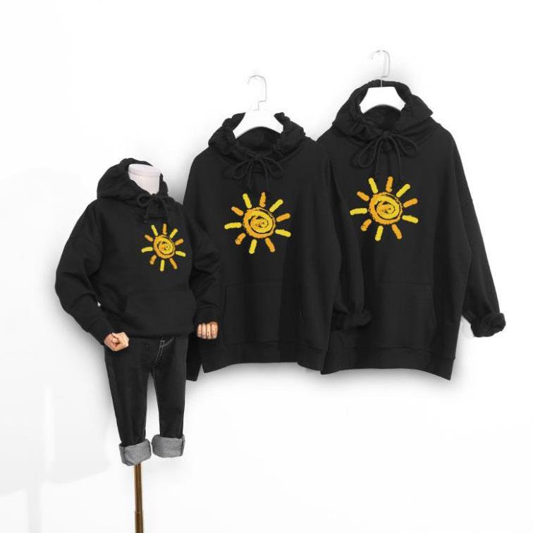 Felpe con cappuccio genitore-figlio designer Felpa da sole di lusso Ragazze Felpa Ragazzi Marca Outdoor Casual Indossare Abbigliamento per bambini All'ingrosso Alta qualità