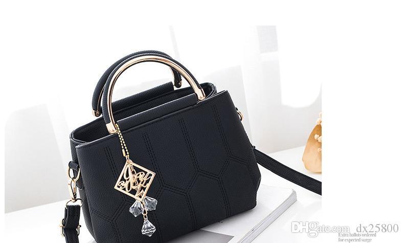Bolsas Crossbody Bolsa para las mujeres 2019 bolsos de hombro Pequeños bolsos de las señoras Bolsa Feminina cristalino barato bolsas de mujer A540