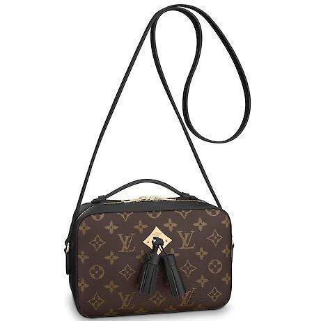 M43555 Saintonge Black Real Caviar Lambskin Le Boy Chain Flap Bag Handbags Shoulder Messenger Bags Totes