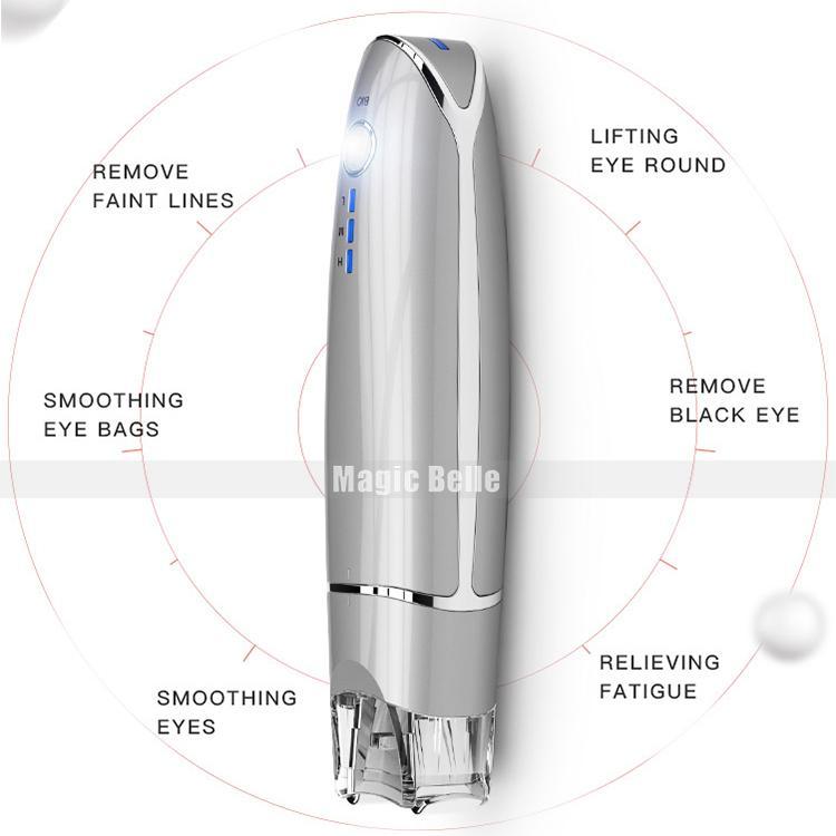 Clip per la cura della pelle portatile Massaggio agli occhi Trattamenti per il viso Vibrazione Grinza Rimuovere gli strumenti